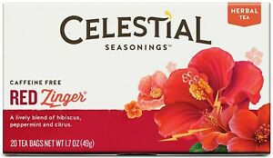 Red Zinger Tea by Celestial Seasonings, Pack of 6