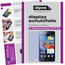 1x Samsung Galaxy S2 i9100 Schutzfolie klar Displayschutzfolie Folie unsichtbar