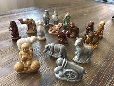 Lot of 17 Vintage Red Rose Tea WADES Figures. Ceramic Animals,Miniatures, NICE