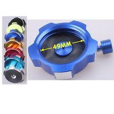 Blue CNC FUEL CAP GAS TANK CAP FOR DIRT BIKE QUAD TAOTAO SSR COOLSTER