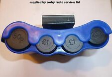 TAXI COIN HOLDER CASH PACK METER RADIO - NEW BLUE DISPENSER LONDON TX2 TX4  LTI