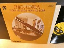 Chick Corea: How He Sings, Now He Sobs (strongVG++ 1st Solid State SS-18039 LP)