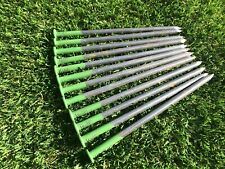 50 Artificial Grass Fixings Pegs Astro Turf Ground Nails Pins
