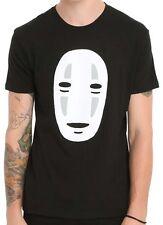Spirited Away No-Face Black Men's T-Shirt New