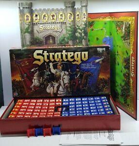 Stratego 1996 Milton Bradley MB board game complete VGC Battlefield strategy