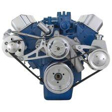 Ford Fe Serpentine System High Flow Kit FFE 390 427 428 Saginaw Pump PS ALT