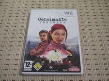 Atti segreti Tunguska per Nintendo Wii e Wii U * OVP *