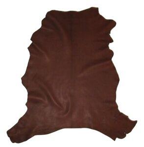 Ultra Premium Heavy 5 oz Goatskin Leather Hide Native Crafts Moccasins Buckskin