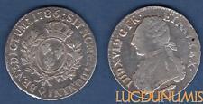 Louis XVI, 1774-1793 – Ecu aux branches d'olivier 1786 Q Perpignan TB TTB
