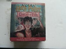 Harry Potter Set-Harry Potter-Goblet of Fire, 17 Audio CDs -preowned