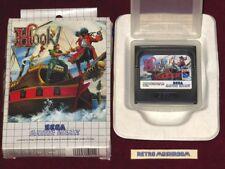 SEGA GAME GEAR - HOOK! BOXED GAME, V.RARE, PETER PAN!