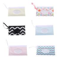 Embrague toallitas limpias Bolsa de toallitas húmedas ecológica Bolsa cosméticos