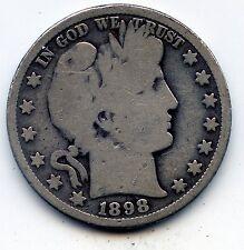 1898-o Barber half (SEE PROMO)