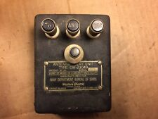 Antique Western Electric Antenna Relay Unit CW-23049 US Navy for GF-11