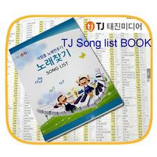 TJ Media Taijin Karaoke Song list book for TKR-365HK 355HK