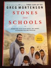 Stones into Schools : Promoting Peace with Books.. by Greg Mortenson (2009 HC)