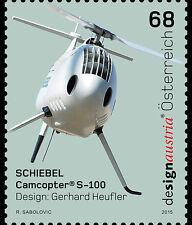 Scheibel Camcopter S-100 mnh stamp 201 Austria #2583 UAV unmanned helicopter