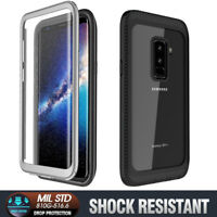 For Samsung Galaxy S9 / S9 Plus Shockproof Waterproof Case with Screen Protector