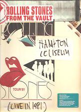 "Rolling stones from the vault ""Hampton Coliseum 1981"" red vinyl 3lp + DVD sealed"