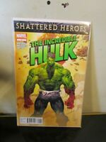 THE INCREDIBLE HULK #1 (2011) MARVEL COMICS SHATTERED HEROES! MARC SILVESTRI BAG