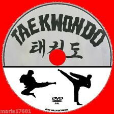 TAEKWONDO COMPREHENSIVE MARTIAL ARTS GUIDE NEW DVD LEARN KICKS DEFENCE ATTACK ++