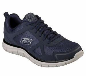 Skechers Track-scloric, Scarpe da Ginnastica Basse da uomo navy with memory foam