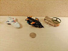 Vintage Buddy-L and Tonka Transformers Knock Off Pull Back Robot Space Ship Lot