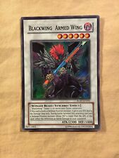 Yugioh Black Wing Armed Wing RGBT-EN041 Super Rare Unlimited Edition NM