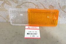 NOS GENUINE MITSUBISHI L200 L021 PICKUP LH SIGNAL LIGHT LAMP LENS # MB141247