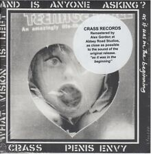 CRASS - Penis Envy [Remastered] CD / sealed