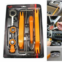 12PC Car Radio Door Clip Panel Trim Dash Audio Removal Pry Tools Moulding Kit UK
