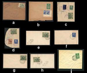 Israel Vorläufer, Judäa, Briefe oder Briefstücke, bitte auswaehlen! #l430
