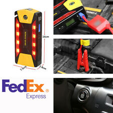 82800mAh High-Power Car Emergency Jump Starter Power Bank 4 USB Output 2A Port