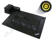Lenovo ThinkPad 0A65692 0A65693 0A65694 Station d'accueil USB 3.0 sans clé Dock seulement