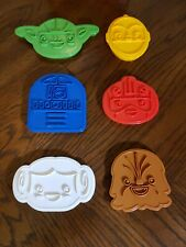 Star Wars Rebel Friends Cookie Cutters Set of 6 - Excellent Used Condition