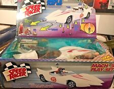 Speed Racer Mach 5 Play Set Spridle & Chim Chim Figures New In Box