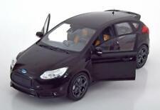FORD FOCUS ST 2011 BLACK MINICHAMPS 110082000 1/18 1002 PIECES METAL NOIR