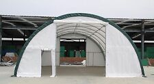 New 30x40x15 Canvas Fabric Storage Building Shelter Shop Metal Frame With Warranty