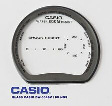 VINTAGE GLASS CASIO DW-004 V / 8V NOS