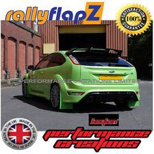 rallyflapZ FORD FOCUS RS300 09-11 Guardafangos Ultimate Verde Kaylan Poliuretano