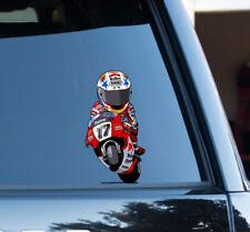 Norick Abe cartoon image Racing Super Bike Sticker TT Race Decal Car motoGP 500c