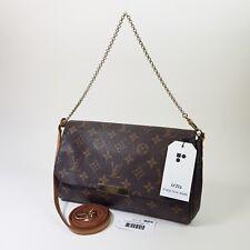 Authentic Louis Vuitton Favorite MM Monogram M40718 Shoulder Clutch Bag LC332