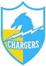 LOS ANGELES CHARGERS Vinyl Decal / Sticker ** 5 Sizes **