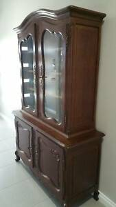 French Provincial Bookcase. 1930 French Oak in very good condition.