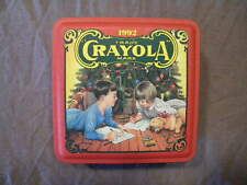 1992 Crayola Crayon Collector Metal Tin