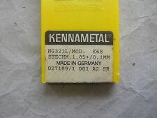 Top notch lastre di svolta per penetrare di Kennametal ng321l k68