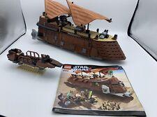 LEGO StarWars Jabba's Sail Barge (6210) Nicht Vollständig.