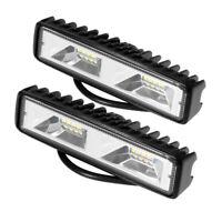 6 zoll LED Auto Offroad Universal Nebel Arbeits Scheinwerfer 12V Licht Lampen