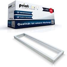 LED Panel Rahmen in 120x30cm Aufputzgehäuse Deckenmontage Wand Weiß - Pro Serie