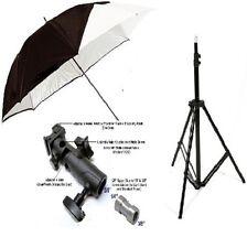 New 100% metal flash mount detached umbrella stand Speedlite flash hotshoe mount